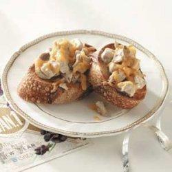 Chicken Mushroom Melts recipe