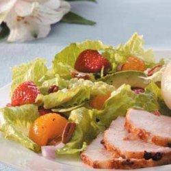 Strawberry Salad with Cinnamon Vinaigrette recipe