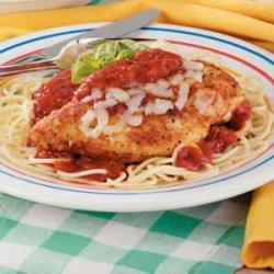Chicken Parmigiana for 2 recipe