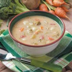 Southwestern Broccoli Cheese Soup recipe
