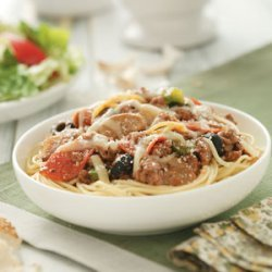 Italian Spaghetti Bake recipe