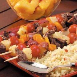 Meat 'n' Potato Kabobs recipe