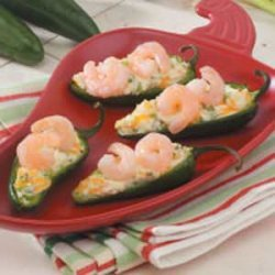 Shrimp Jalapeno Boats recipe