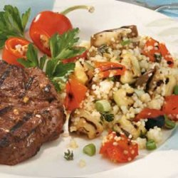 Couscous with Grilled Vegetables recipe