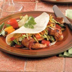 Grilled Shrimp Fajitas recipe