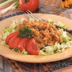 Cheesy Beef Taco Salad recipe