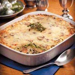 Seafood Lasagna Alfredo recipe