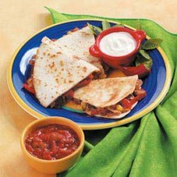 Sausage Quesadillas recipe