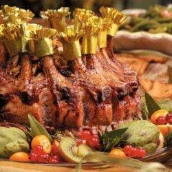 Stuffed Crown Roast of Pork recipe