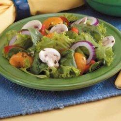 Mixed Green Salad recipe