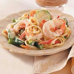 Pasta Primavera with Shrimp recipe