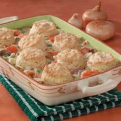 Chicken Potpie Casserole recipe