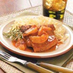 Slow Cooker Pork Chop recipe