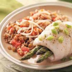 Brown Rice with Lentils recipe