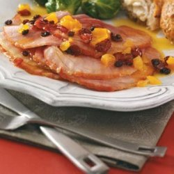 Ham with Orange-Apricot Sauce recipe