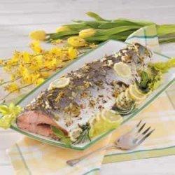 Baked Whole Salmon recipe