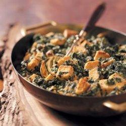 Creamy Spinach Casserole recipe