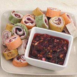 Turkey Tortilla Spirals recipe
