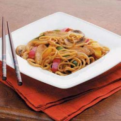 Turkey Lo Mein Stir Fry recipe