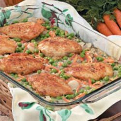 Wild Rice Chicken Bake recipe