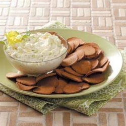 Cucumber Onion Dip recipe