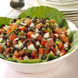 Calico Black Bean Salad recipe