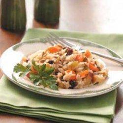 Harvest Rice recipe