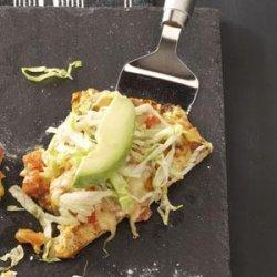 Baja Chicken Taco Pizza recipe