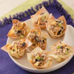 Turkey Wonton Cups recipe