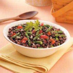 Black Bean Asparagus Salad recipe