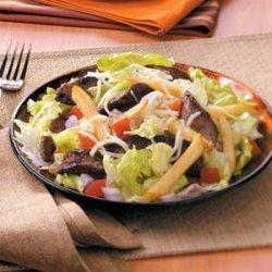 Steak 'n' Fries Salad recipe