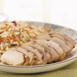 Grilled Jerk Turkey recipe