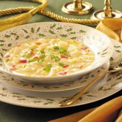 Cheddar Corn Chowder recipe