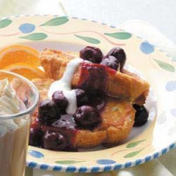 Sweet Cherry French Toast recipe