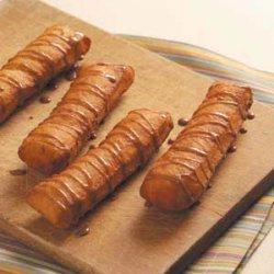 Maple-Glazed Long Johns recipe