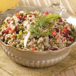 Festive Rice Salad recipe