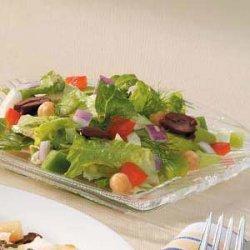 Fancy Chopped Salad recipe