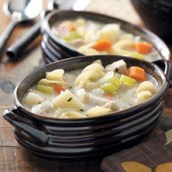 Cream of Chicken Noodle Soup recipe