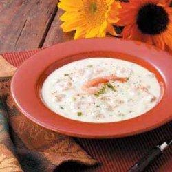 Shrimp Soup with Sherry recipe