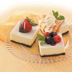 Topped Cheesecake Squares recipe