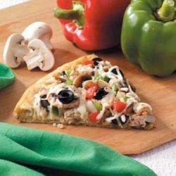 Veggie Turkey Pizza recipe