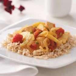 Curried Chicken with Apples recipe