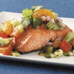 Sugar 'n' Spice Salmon recipe