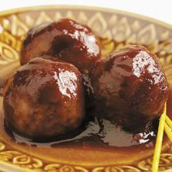 Saucy Asian Meatballs recipe