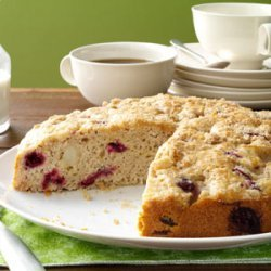 Cranberry-Pear Coffee Cake recipe