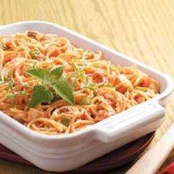 Chicken Spaghetti Bake recipe