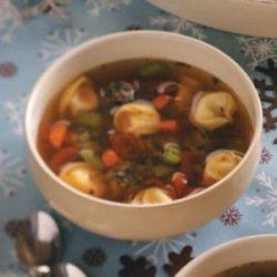 Tortellini Meatball Stew recipe