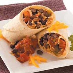 Bean 'n' Rice Burritos recipe