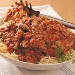 Zippy Spaghetti Sauce recipe