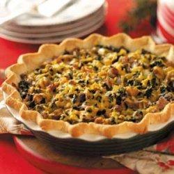 Sausage Mushroom Pie recipe